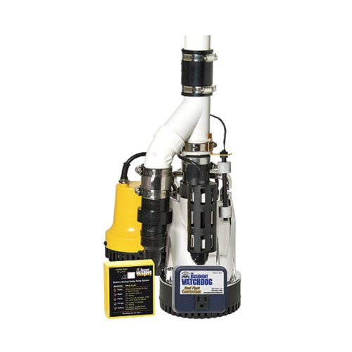 Glentronics, Inc. DFK-961 1/3 Horsepower Basement Watchdog Submersible Combination Sump Pump System