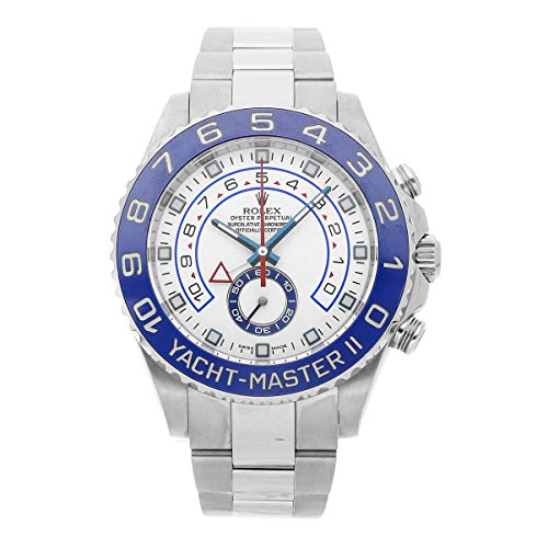 (Rolex Yacht-Master II Mechanical (Automatic) White Dial Mens Watch 116680 (Certified Pre-Owned))
