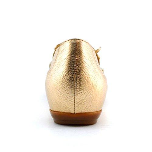 Piel Oro Wonders 3091 A Zapatos 7w8wqzTA