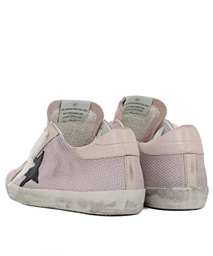 Rosa Tela G33ws590g74 Zapatillas Mujer Golden Goose gIqw6Bt7By