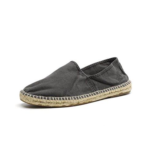Natural World–Sneaker Herren Camping Yute negro-601