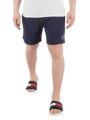 Calvin Klein Men's Terry Sweat Shorts, Blue