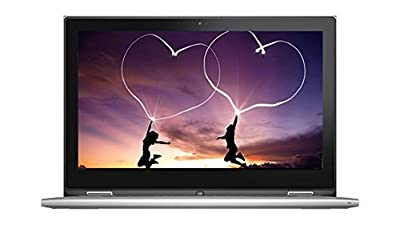 2017 Newest Dell 2-in-1 Convertible Inspiron 13.3 inch Full HD Touchscreen Backlit Keyboard Flagship High Performance Laptop PC, Intel Core i7-6500U Dual-Core, 2.5 GHz, 8GB RAM, 256GB SSD, Windows 10