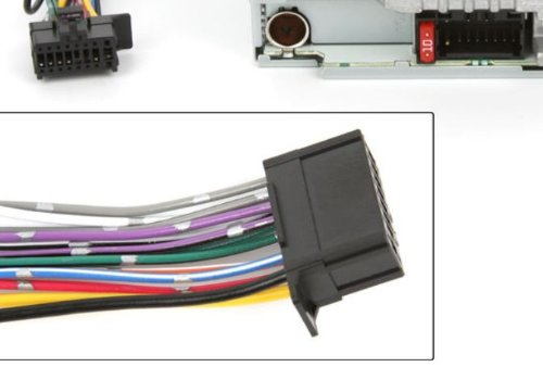 419vCXxFAZL amazon com pioneer power cord harness speaker plug for receiver pioneer deh x5500hd wiring harness diagram at honlapkeszites.co