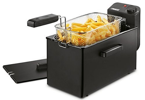 Freidora Princess Deep Fat Fryer negra – Zona fría – Filtro de