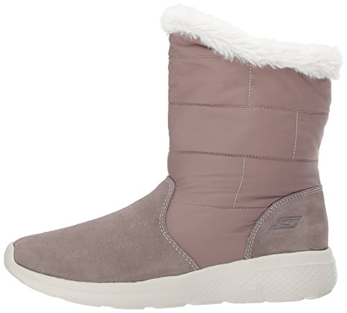 Skechers go On the taupe Beige Boots City Women''s 2 qqg71RwA