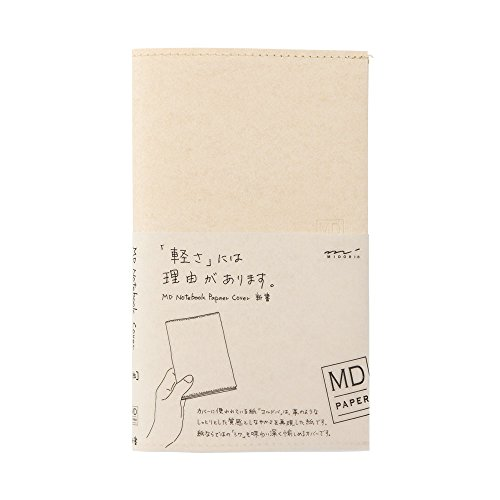 [Midori] MD series notebook jacket H185~W225mm made of light and stout paper