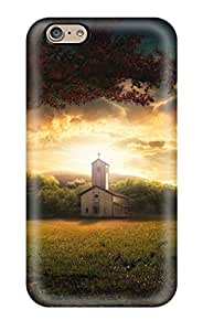 Premium Sunrise Earth Back Cover Snap On Case For Iphone 6