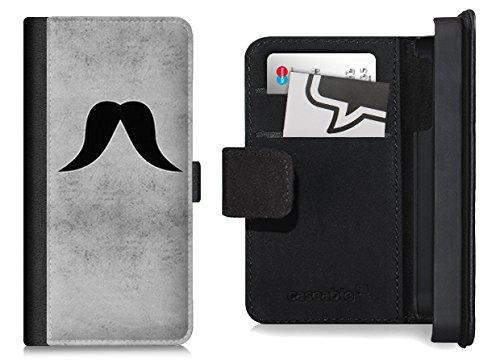 Design Flip Case für das iPhone 6 Plus - ''Moustache Friedrich'' von Claus-Peter Schöps