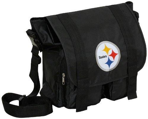 Concept One(コンセプト ワン) NFL ピッツバーグスティーラーズ Diaper バッグ (ブラック) - [スポーツ用品] [スポーツ用品]   B003ZZF188
