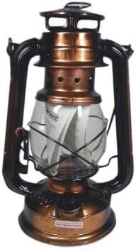 Favorit Sturm-Laterne 25 cm antik