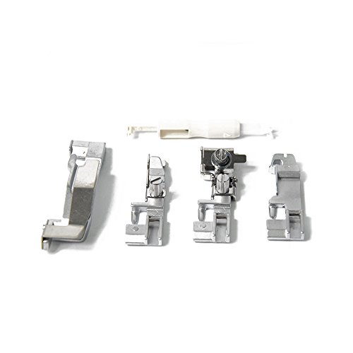 5 Piece Foot (5 Pieces Multi Function Presser Foot for Household Sewing Machine Attachment / spare part)