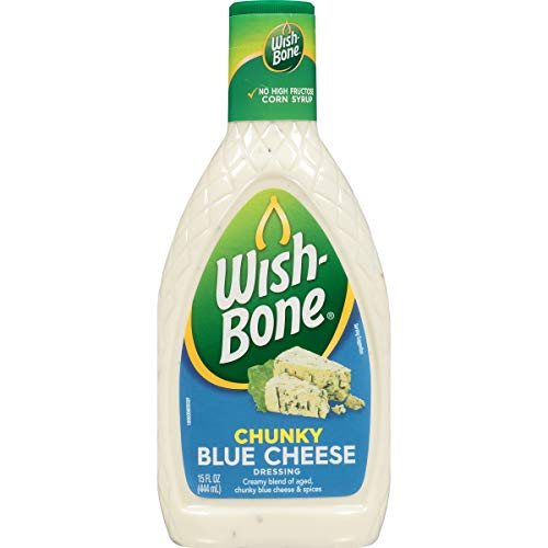 Wish-Bone Salad Dressing, Chunky Blue Cheese, 15 Ounce