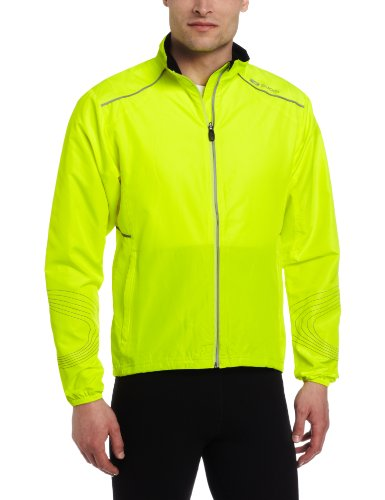 Sugoi Men's Zap Jacket, Super Nova Yellow, Small - Zap Jacket Bike