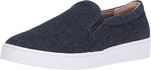 - Vionic Women's Splendid Midi Slip-on - Ladies Sneaker with Concealed Orthotic Arch Support Denim 10 M US