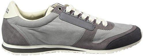 Tommy Jeans S2385print 1c, Men's Low-Top Sneakers Grey - Grau (Steel Grey 039)