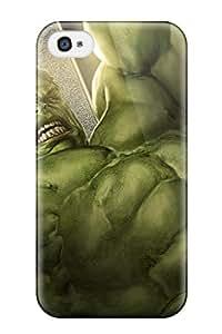 Jonathan Litt's Shop Tpu Phone Case With Fashionable Look For Iphone 4/4s - Hulk
