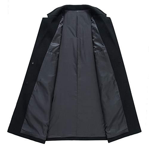 Para Hombre Bjxyy Black 3 Abrigo FAWqwx7p