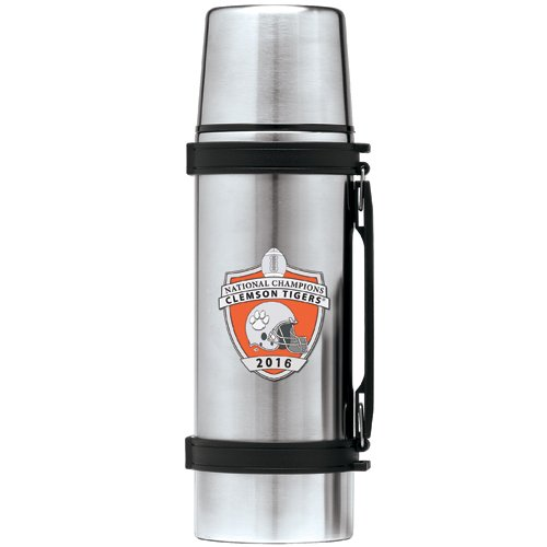 Heritage Pewter Clemson Tigers 2016 National Champs Thermos