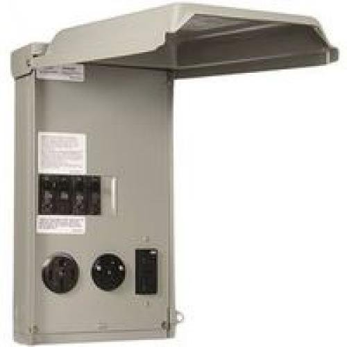 GE Power Panel Rv 100a 50/30/20a