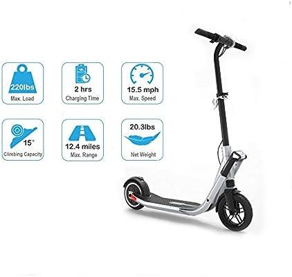Amazon.com: QACFK City - Patinete eléctrico de viaje para ...