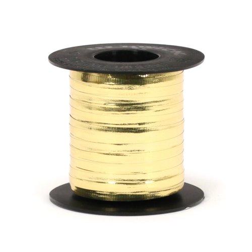 Berwick 3/16-Inch Wide by 250-Yard Spool Glitter Crimped Curling Ribbon, Gold