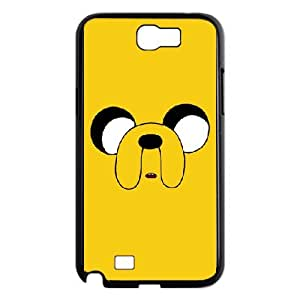 Best Adventure-Time Jake the dog Samsung Galaxy Note2 N7100 case On Cover Faceplate Protector