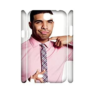 J-LV-F Drake Customized Hard 3D Case For Samsung Galaxy Note 2 N7100