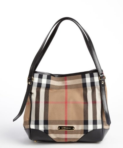 10b584df6bdc Burberry Bridle House Check Small Canterbury Tote  Amazon.ca  Clothing    Accessories