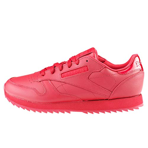 Cranberry Cranberry Women's Ripple Lthr Shoes Reebok Red Red Red Cl Gymnastics FWzTS6g