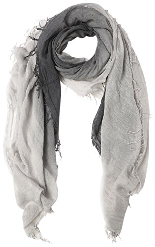 Chan Luu Dip Dyed Cashmere and Silk Scarf (Ebony-Harbor Mist) ()
