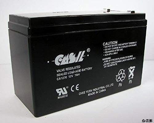 CASIL 12V 7AH CA1270 Sealed Lead Acid Battery for UPS and Alarm Systems