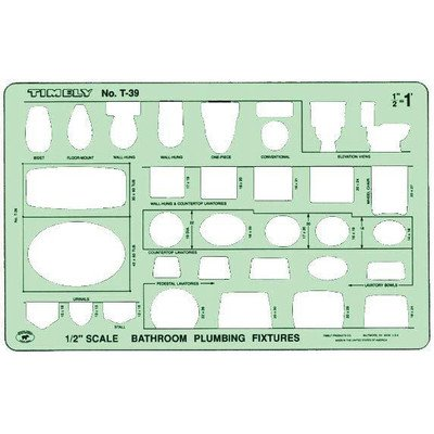 Timely Bathroom Plumbing Template by Timely