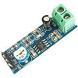 YUXINXIN Arduino用LM386チップ20ゲインオーディオアンプモジュール - ブルー