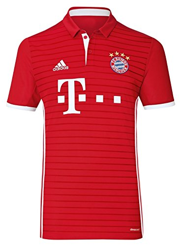 adidas FC Bayern Munchen Polo - Maillot pour Homme, couleur Blanc, taille L