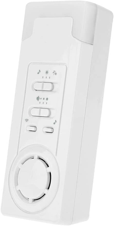 Gorgeri ABS Wireless Alert Call Help Button Transmitter and Receiver for Elderly Patient Pregnant Children