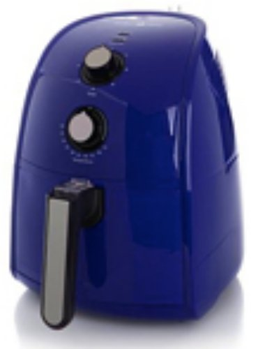 Simply Ming Blue Healthy Fry Ceramic Air Fryer