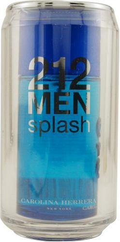 212 Splash By Carolina Herrera For Men, Eau De Toilette Spray, 3.4-Ounce Bottle