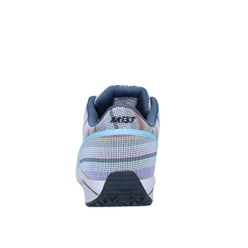 MBT - Zapatillas de tela para mujer Azul