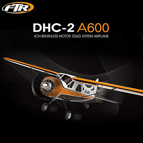 RC Quadcopter, LtrottedJ XK DHC-2 A600 4CH 2.4G Brushless Motor 3D6G RC Airplane 6 Axis Glider by LtrottedJToy (Image #6)