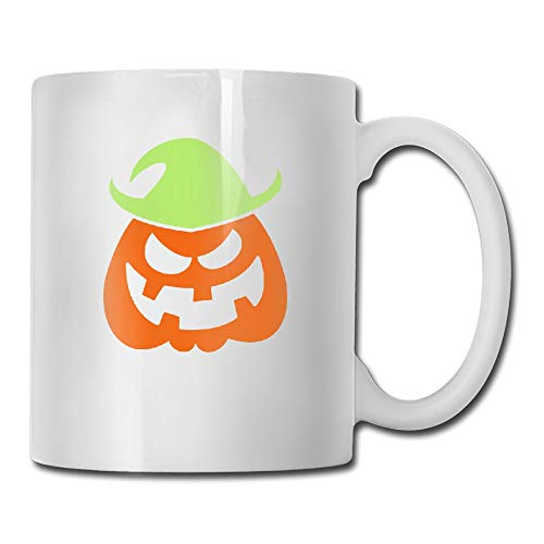Naughty Halloween Scarecrow Coffee Mug]()