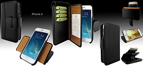Piel Frama 678 Black Leather Wallet for Apple iPhone 6 / 6S / 7 / 8 by Piel Frama (Image #7)