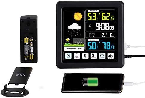 PTICA TS-3310-WG Pantalla táctil Completa Estación meteorológica ...