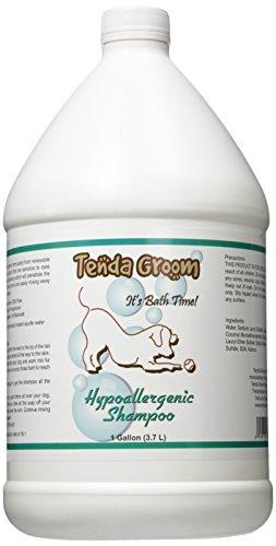 Tenda Groom Hypoallergenic Dog Shampoo, (Puppy Shampoo Gallon)