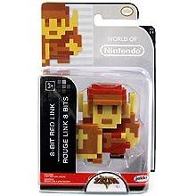 World of Nintendo The Legend of Zelda 8 Bit Red Link Figure