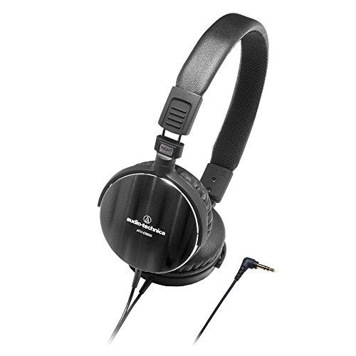 Audio Technica Aluminum Lightweight Headphone (Audio Technca Ath-Es500bk Audiophile Portable)