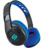 SOUL X-TRA Wireless Over-Ear Headphones with Bluetooth 4.0 for Smartphones (iPhone X, Samsung Galaxy S9 and more), blue