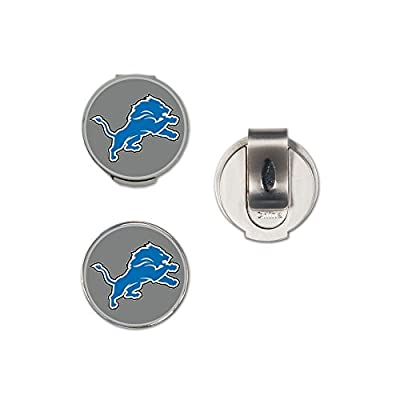 NFL Detroit Lions A0136712 Clamshell Hat Clip with 2 Markers