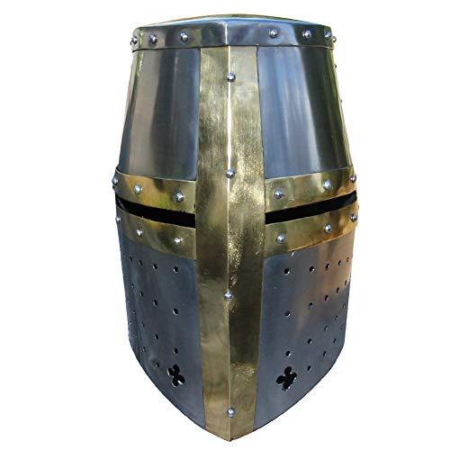 - Armory Replicas Great Helm Knights Templar Crusader Helmet