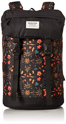 Burton Tinder Backpack, Black Fresh Pressed Print ()